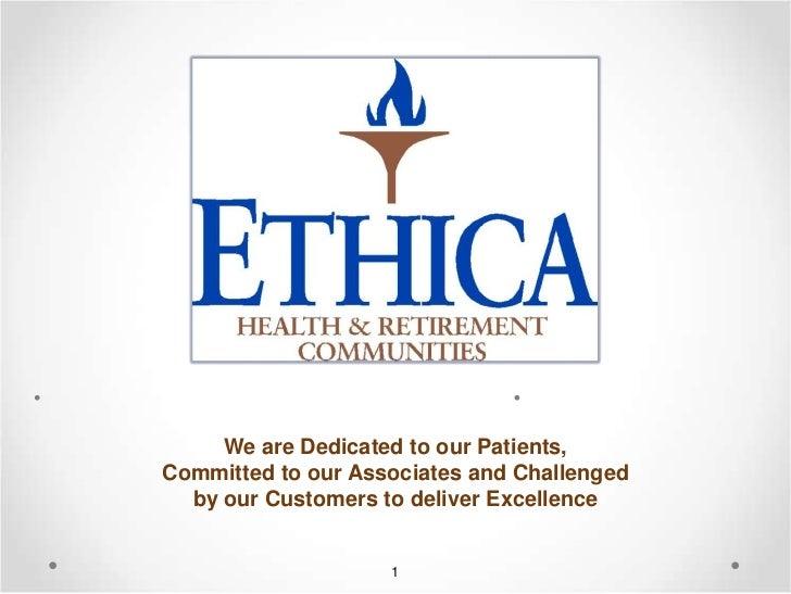 Ethica Health & Retirement Communities