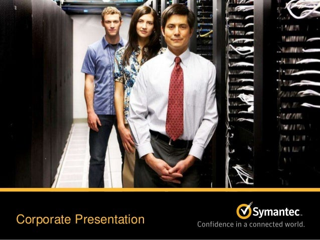 Symantec Corporate Presentation May 31, 2013