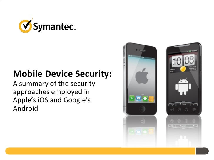 Symantec Mobile Security Whitepaper June 2011