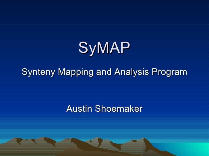 SyMAP Master's Thesis Presentation