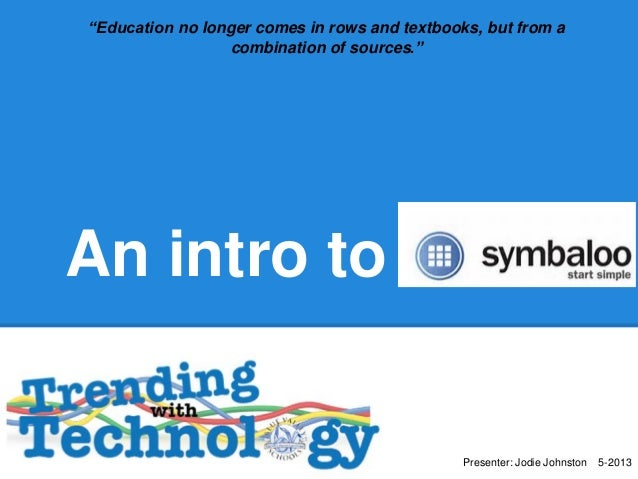 Symbaloo trending with tech