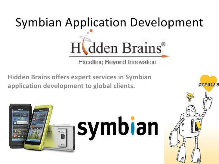 Symbian application development