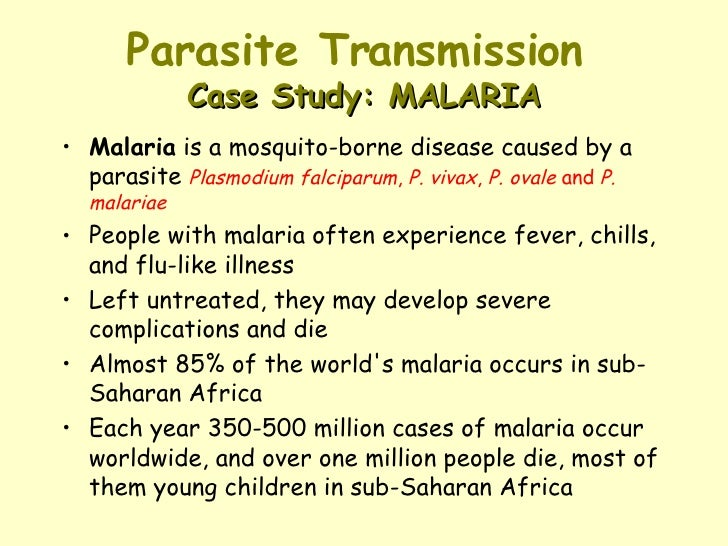 symbiotic relationship malaria and people