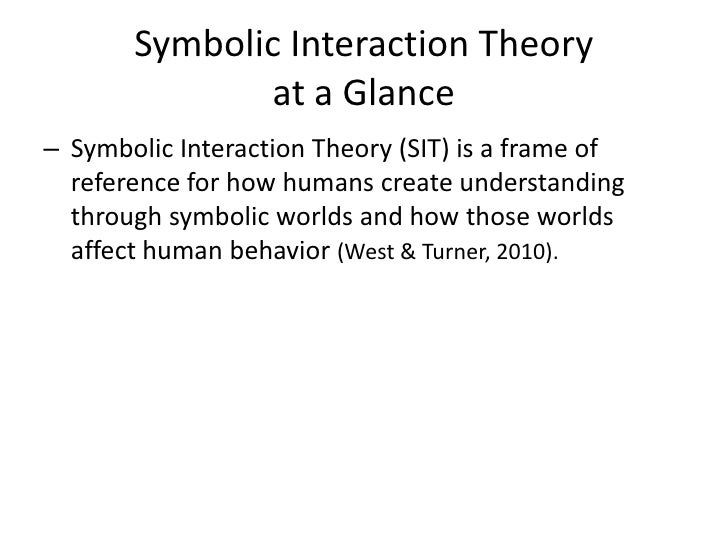 Symbolic interactionism and education essay