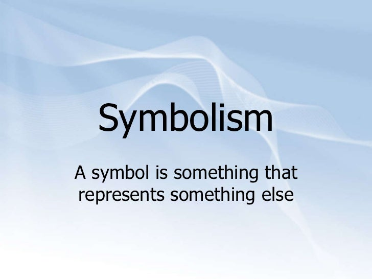 Scrima Blogs Favorite Element Of Writing Symbolism And Meaning