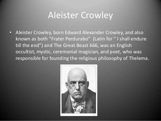 Aleister Crowley Quotes Quotesgram