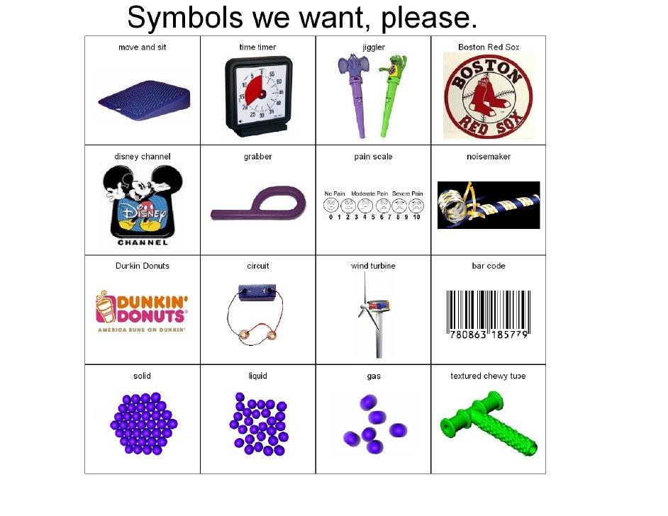 Symbols We Want