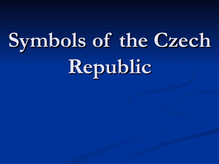 Symbols of the Czech Republic