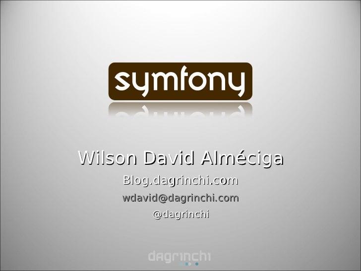 Symfony dagrinchi