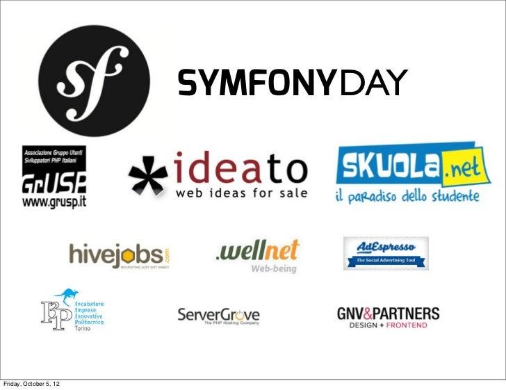 Symfonyday Keynote