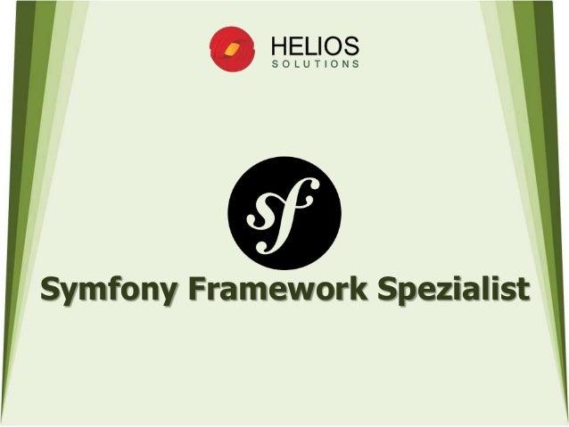 Symfony Framework Spezialist