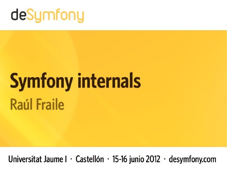 Symfony internals [english]