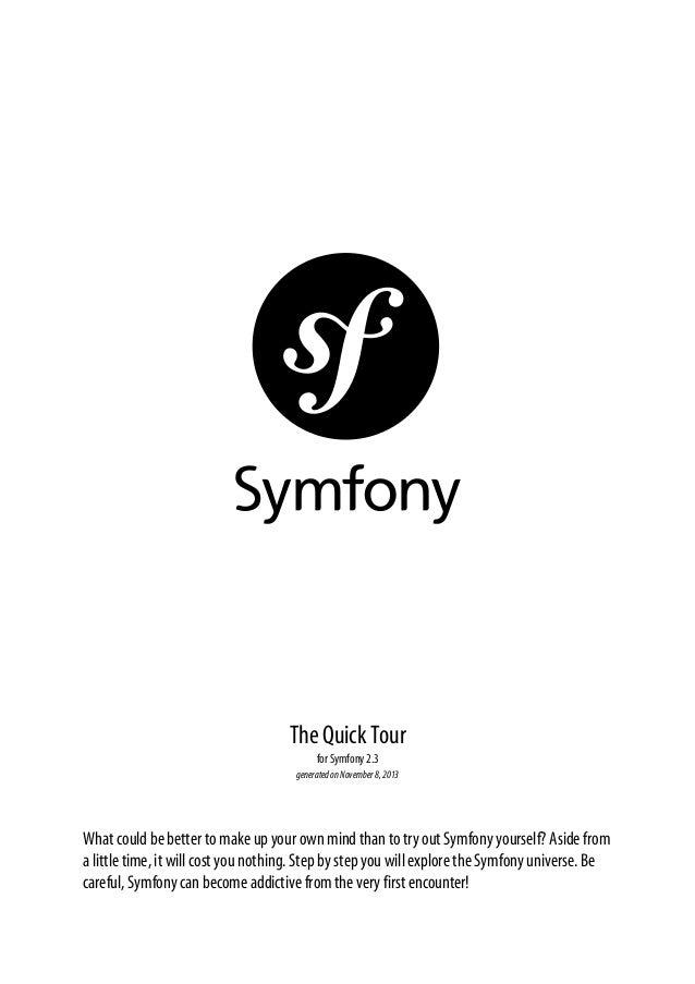 Symfony quick tour_2.3