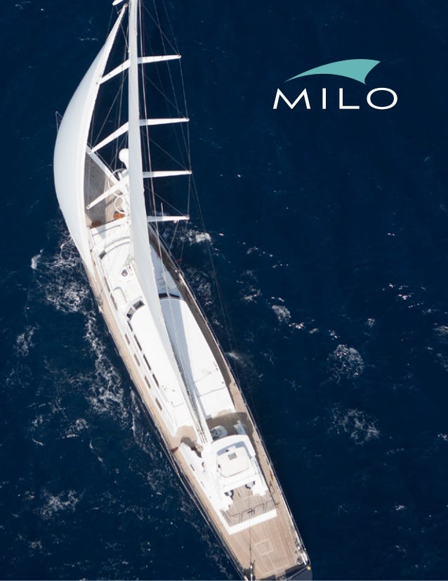 MILO Sailing Yacht for Charter