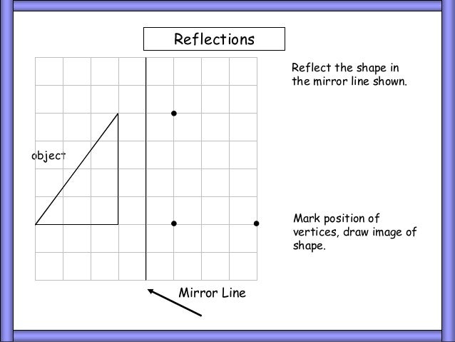 Line Reflection Worksheet 20 Object Mirror Line Reflect