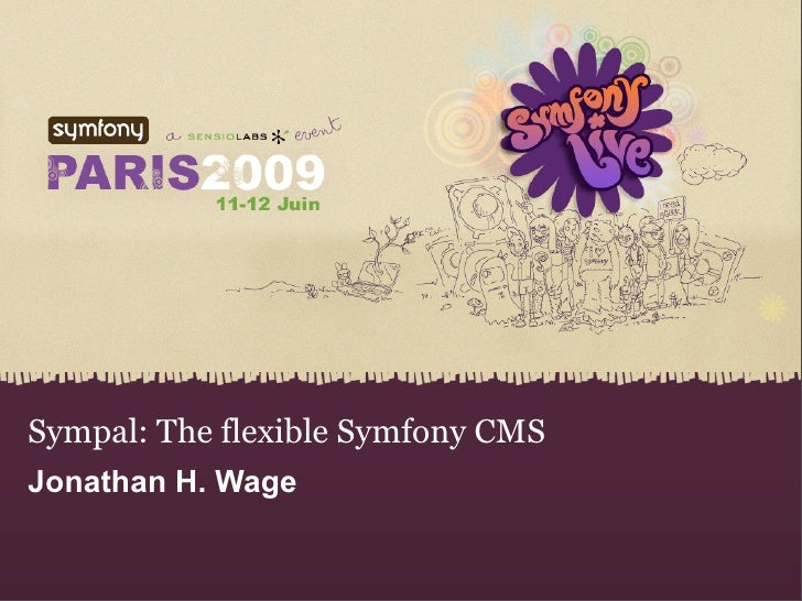 Sympal The Flexible Symfony Cms