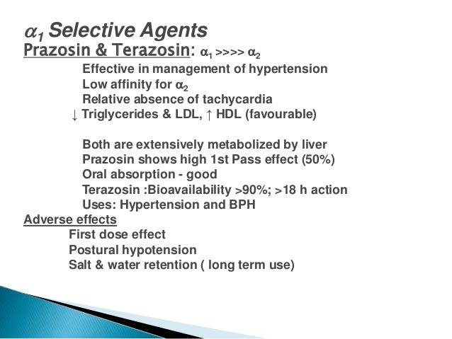 Hytrin Drug Study