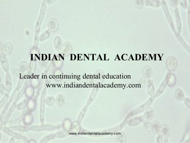 Symposium oral micro flora /certified fixed orthodontic courses by Indian dental academy