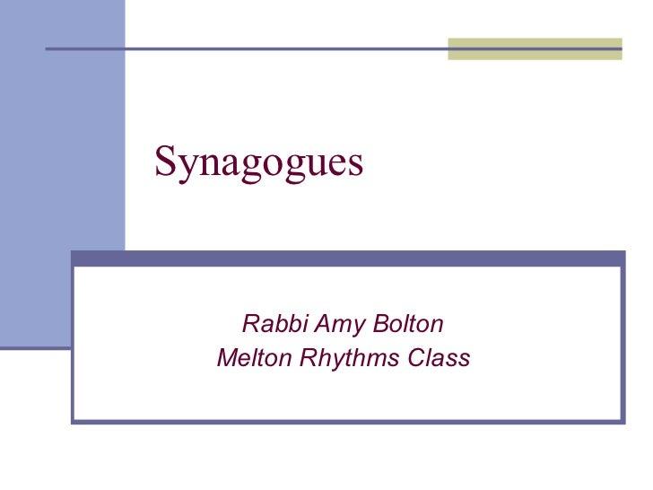 Synagogues 2
