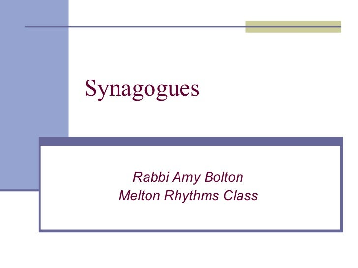 Synagogues 2