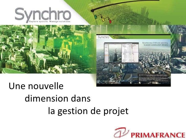 Synchro presentation