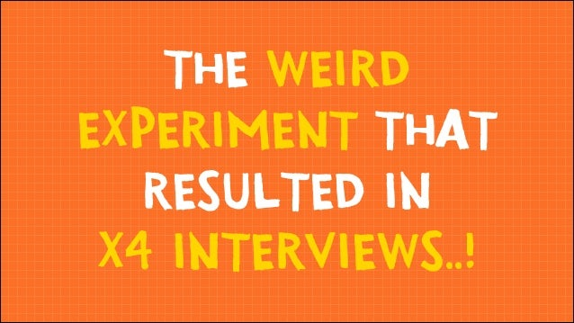The Weird Freelance Experiment That Resulted in x4 Interviews
