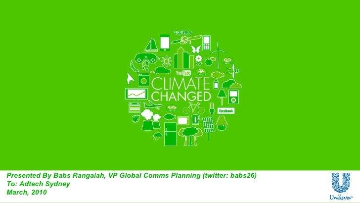 Babs Rangajah - Climate Changed