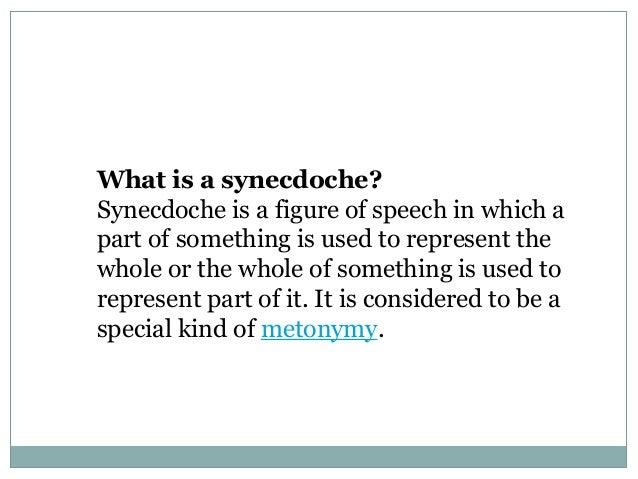 synecdoche essay