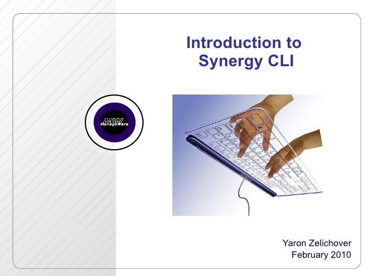 Synergy CLI