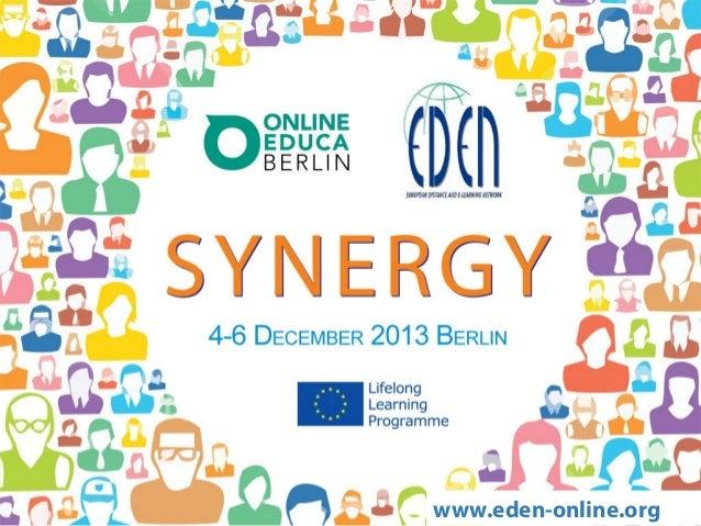 Synergy @ OEB 2013
