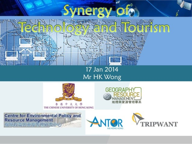 Synergy of technology and tourism 2014