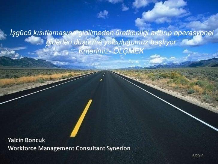 Synerion Workforce Management Solutions Turkish Presentation