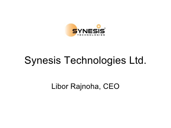 Synesis Technologies Company Overview