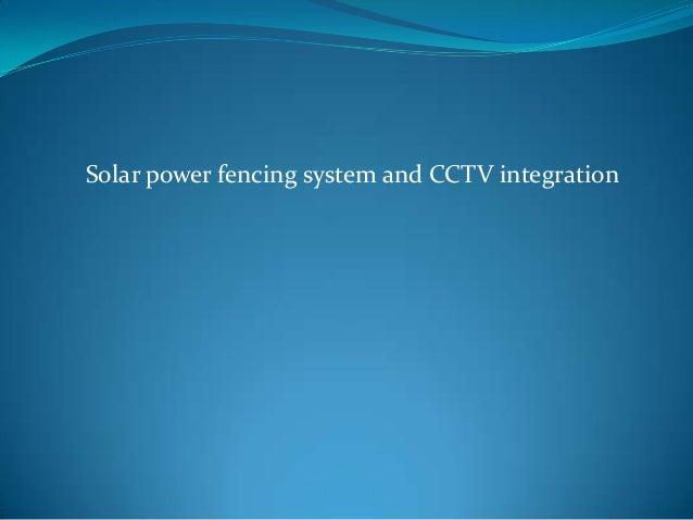 Syngenta solar power fencing by blaze automation