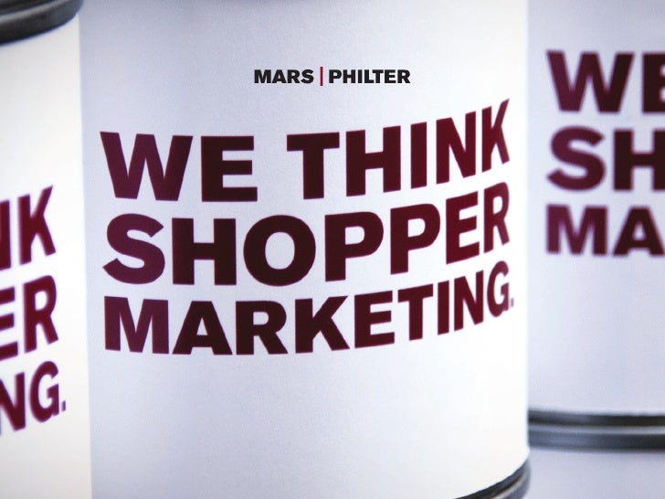A SYNOPSIS OF THE 2012SHOPPER MARKETING FORUM