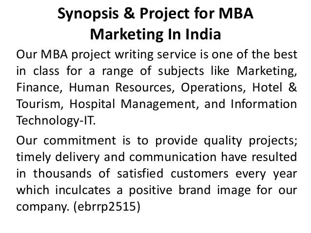 Dissertation for mba finance