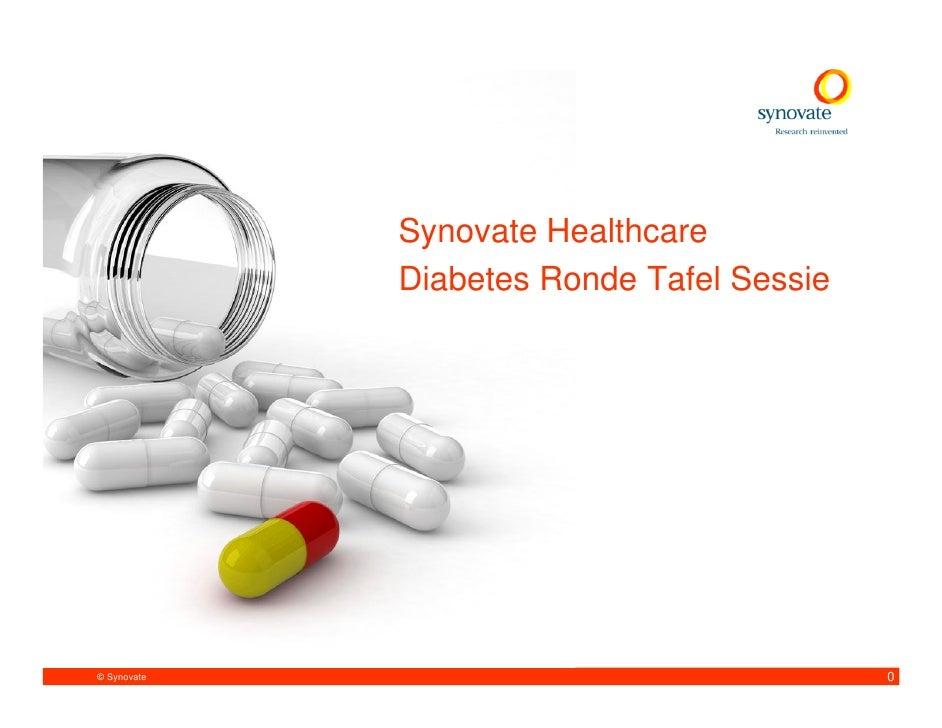 Synovate NL 2010_02 Healthcare Diabetes Round Tablex