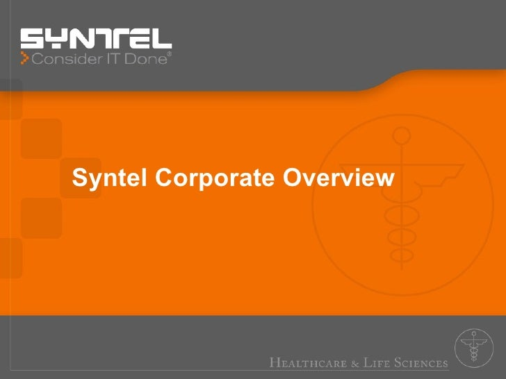Syntel Corporate Overview