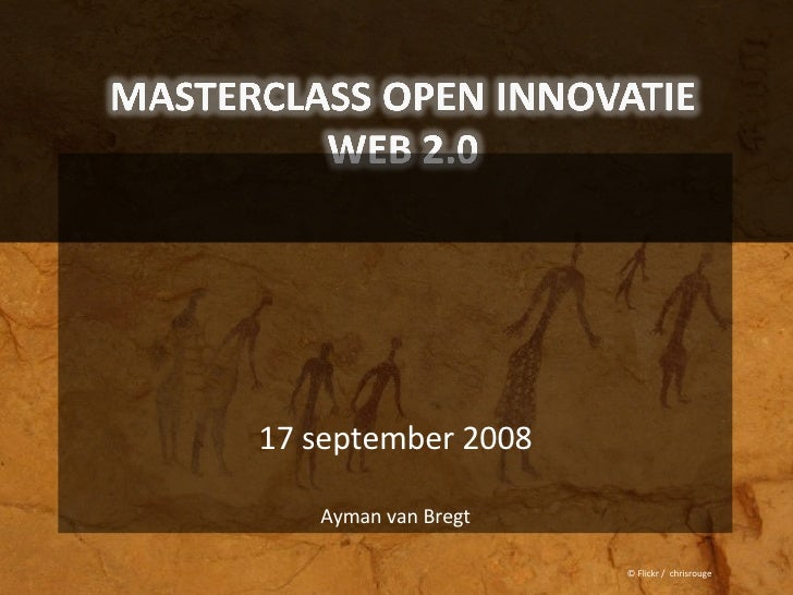 Syntens Masterclass Open Innovatie September 2008