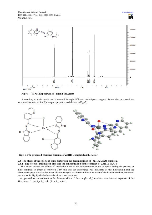 synthesis characterization and thermal studies of ndpah J serb chem soc 0 (0) 0–11 (2010) jscs–rn4395 original scientific paper 1 synthesis, characterization and thermal study of some transition metal complexes of an asymmetrical.