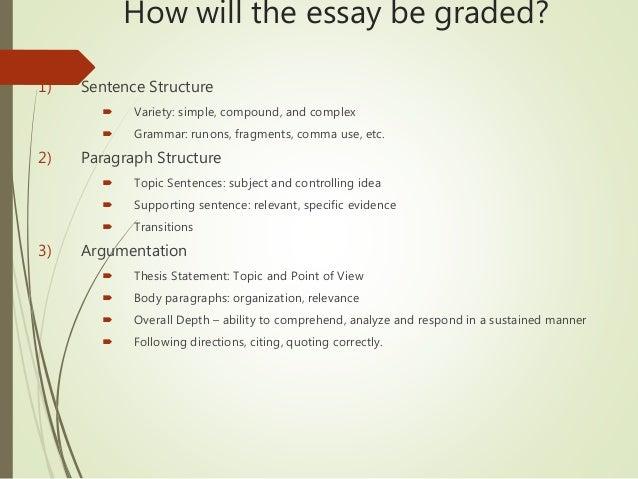 Essay Advice?