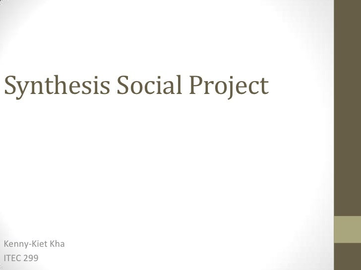 Synthesis social project