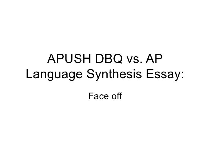Ap Language Synthesis Essay Thesis