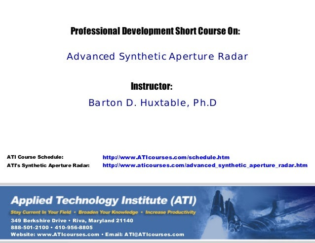 Synthetic aperture radar_advanced