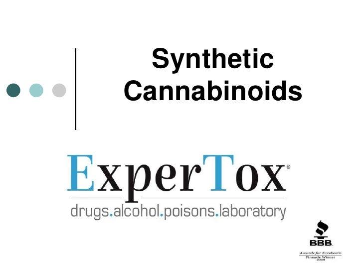Synthetic Cannabinoids 120710 Presentation