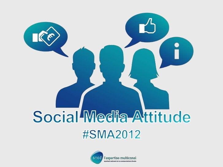 Social Media Attitude 2012