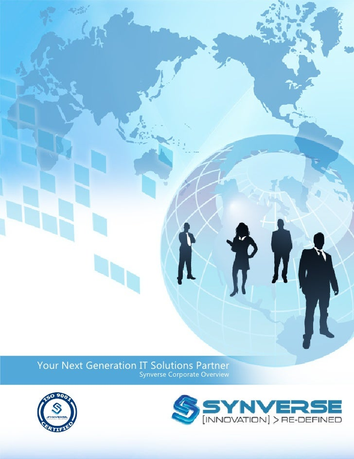 Your Next Generation IT Solutions Partner                      Synverse Corporate Overview