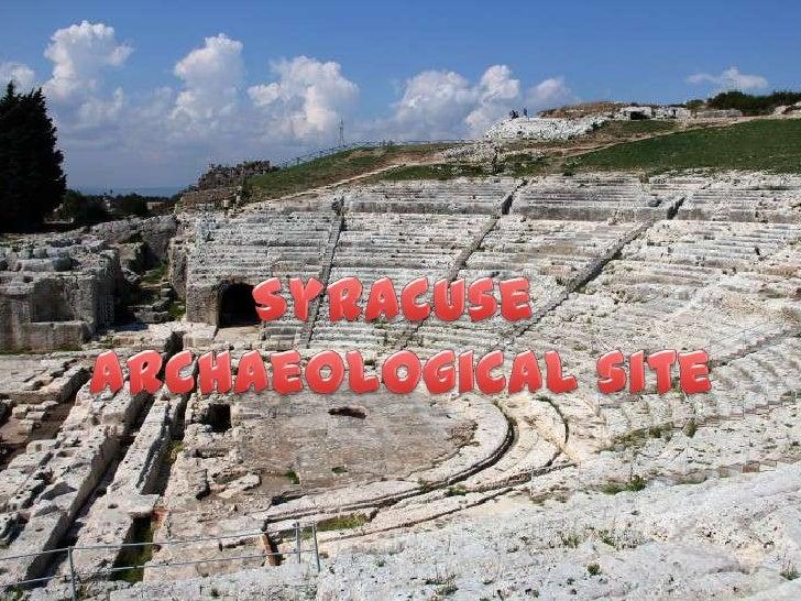 Syracuse -  archaeological site