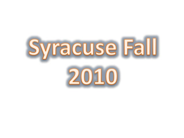 Syracuse transition