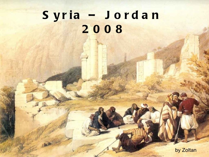 Syria jordan-2008